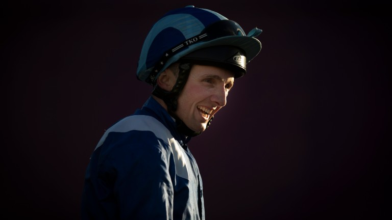 Chris Hayes: will donate all his riding fees for Irish Champions Weekend to cancer trials