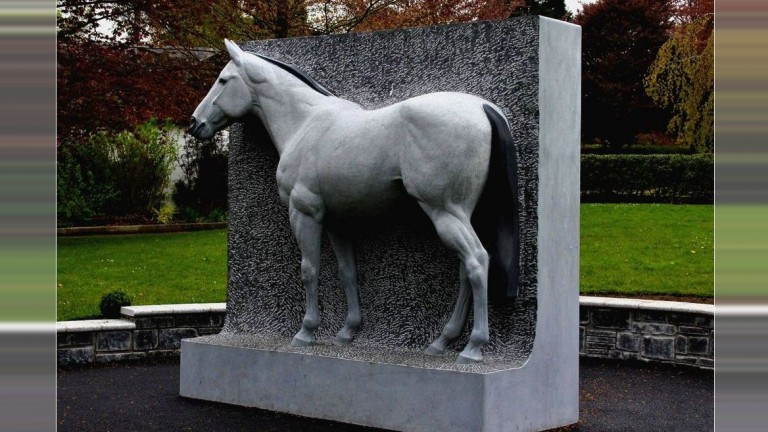 The Invincible Spirit statue is hewn from Kilkenny limestone