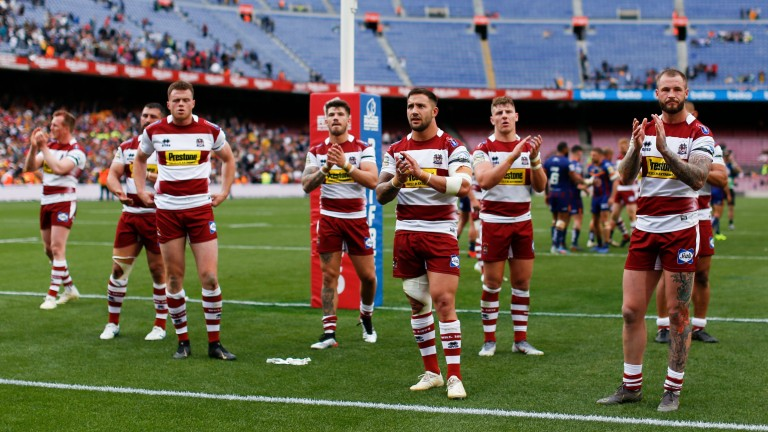 Wigan Warriors can seal second spot with a win over Castleford Tigers