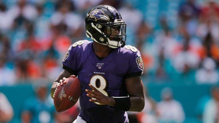 Lamar Jackson put in an excellent performance for the Baltimore Ravens