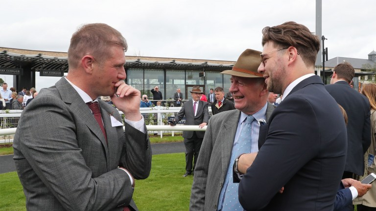 Cathal Beale (left): 'There's only one Invincible Spirit'