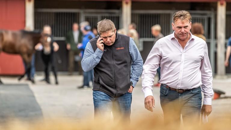Dan Skelton (left) and David Futter are men on a mission