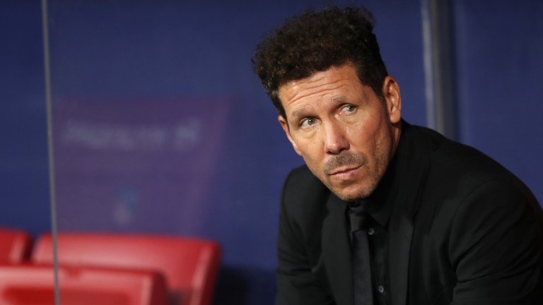 Diego Simeone's Atletico Madrid can record three points