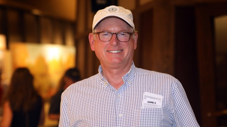 Bill Farish of Lane's End was thrilled with Friday's trade