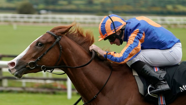 Love: winner of the Moyglare Stud Stakes at the Curragh in September