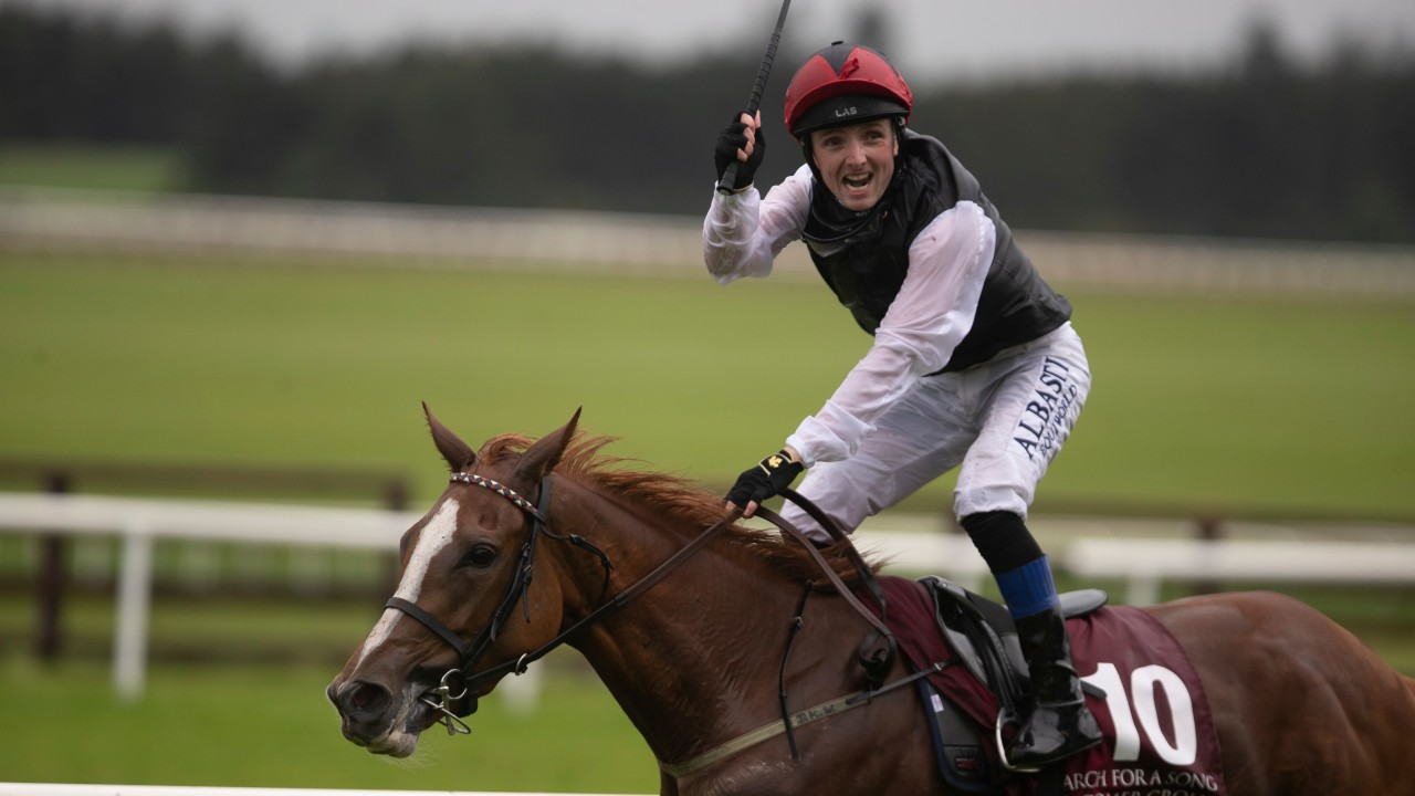 Search For A Song serves up Irish St Leger upset under superb Chris Hayes ride