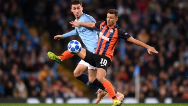 Junior Moraes (right) of Shakhtar Donetsk has scored seven goals in his last eight appearances