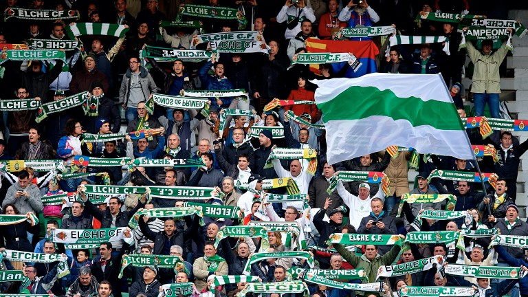 Elche's fans will be hoping for victory