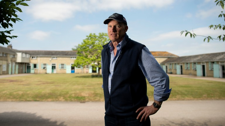 John Gosden: two market principals in the Royal Hunt Cup
