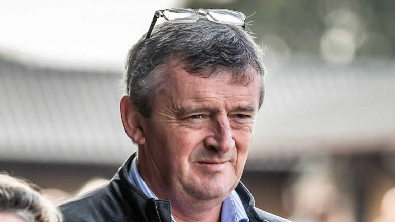Eddie O'Leary is not regretting Gigginstown's decision to withdraw Tiger Roll from the Grand National