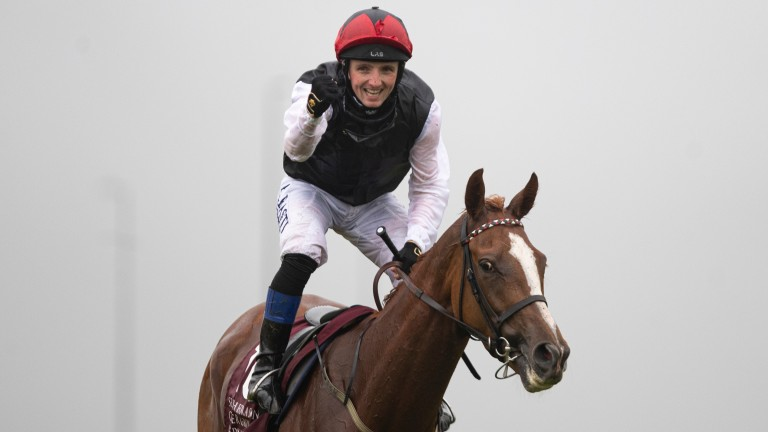 Chris Hayes on Search For A Song after the pair landed the Irish St Leger at the Curragh