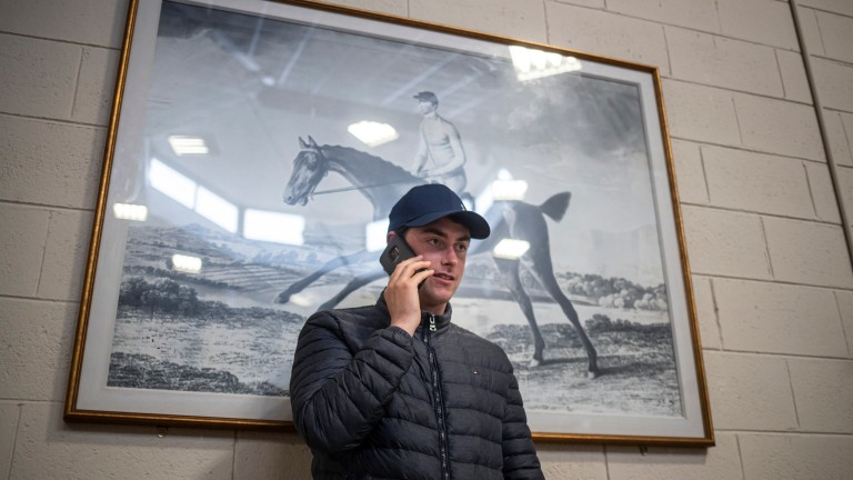 Emmet Mullins: has been fined €5,000 and will not be allowed on course for three months