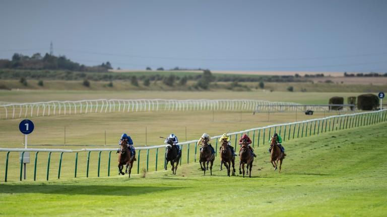 Benbatl: wining the Joel Stakes at Newmarket under Oisin Murphy
