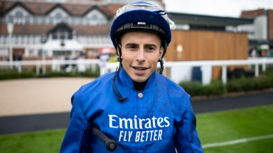 William Buick: won the Royal Hunt Cup on Dark Vision