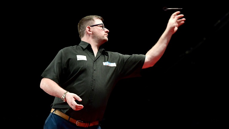 James Wade may have to work to see off Callan Rydz