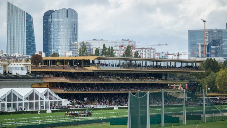 Longchamp: stages its second meeting of the week on Thursday