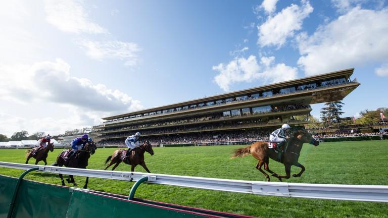 Racing resumes behind closed doors in France after the coronavirus-enforced shutdown