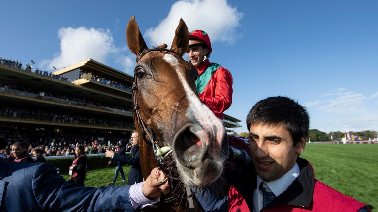 Waldgeist: won the Foy before going on to claim the Arc
