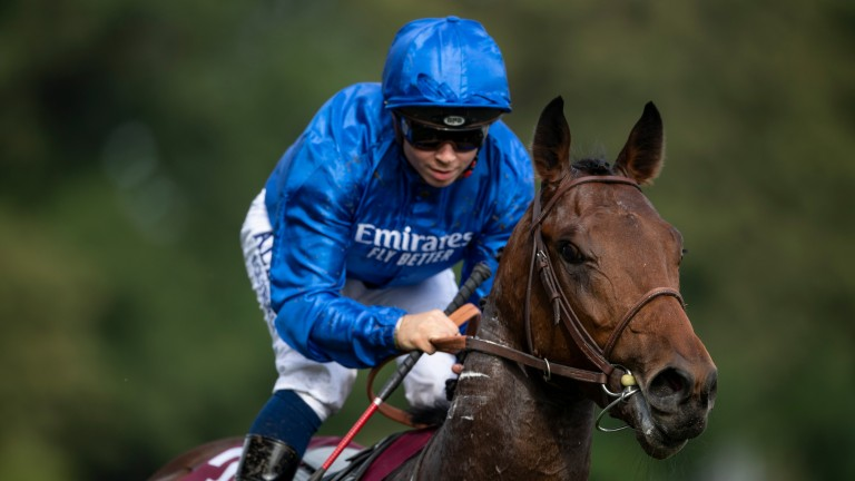 Victor Ludorum is one of three colts trained by Andre Fabre who remain engaged in the Poule d'Essai des Poulains