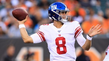 New York Giants rookie quarterback Daniel Jones could shine against strong New England defence