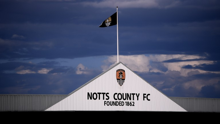 Notts County host Chesterfield at Meadow Lane
