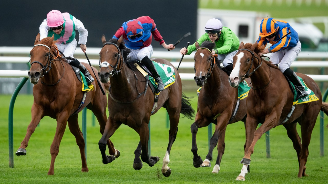 Unbeaten Quadrilateral gives Watson first British Group 1 in Fillies' Mile