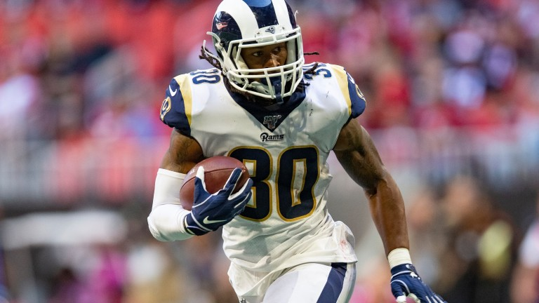 Todd Gurley could have a big game in London for LA Rams