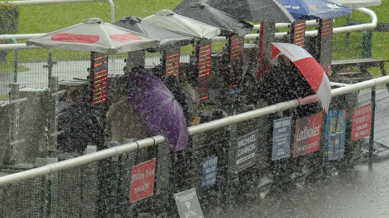 Weather woe: Hereford has cancelled its Wednesday meeting