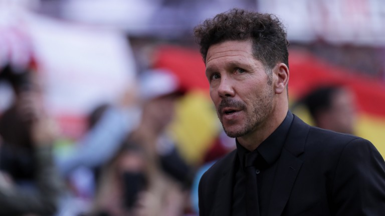 Diego Simeone's Atletico Madrid may not have things all their own way