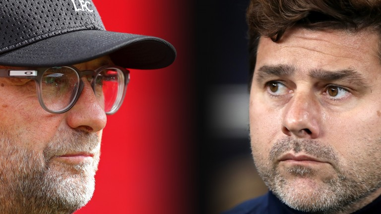 Jurgen Klopp's Liverpool will host Mauricio Pochettino's Tottenham in the Premier League