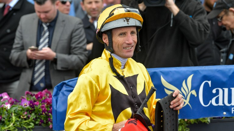Damien Oliver: among the top riders set to miss the remainder of the Autumn Carnival