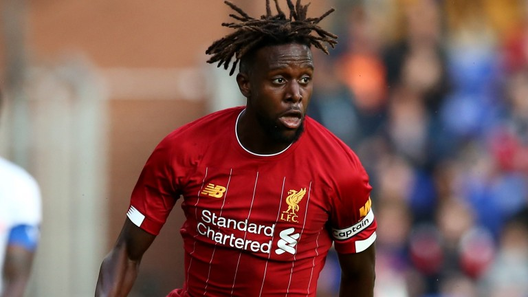 Divock Origi will be expecting to start for Liverpool