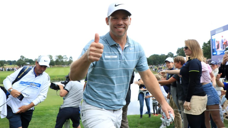 Paul Casey will be hoping to enhance a strong Augusta record