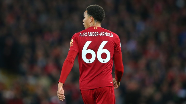 Trent Alexander-Arnold continues to impress at right-back for Liverpool