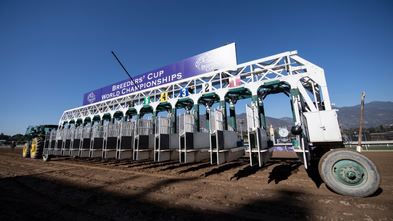 Santa Anita: hosted the 2019 Breeders' Cup