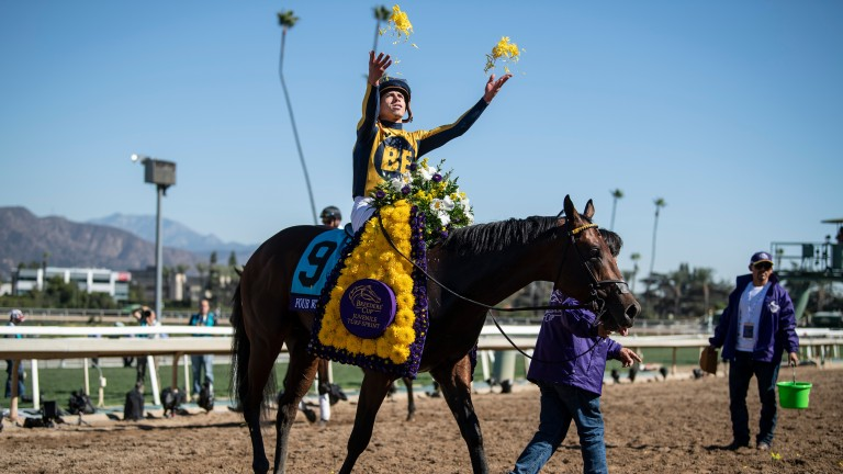 Four Wheel Drive Strikes For Wesley Ward In Breeders Cup