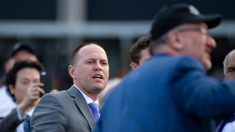 Chad Brown: has enjoyed significant success at Tampa Bay Downs