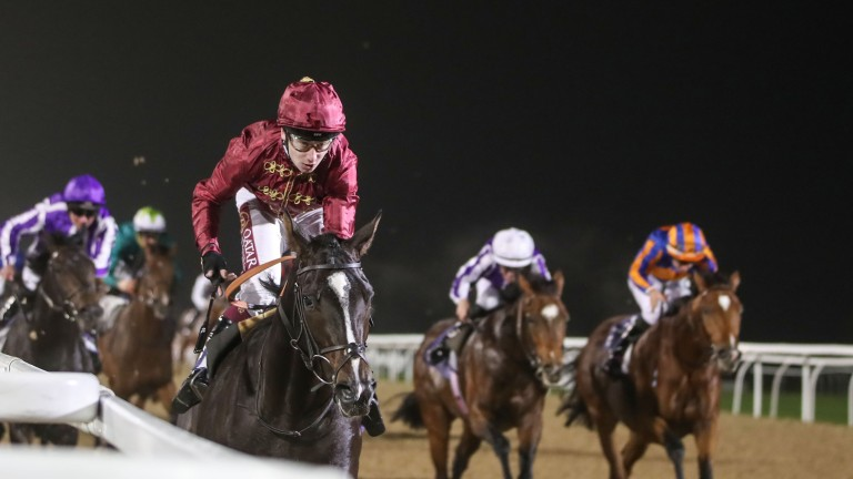 Kameko: appears one of the main dangers to Pinatubo in the Qipco 2,000 Guineas