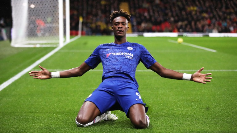 Tammy Abraham and Chelsea could have plenty to celebrate at the Emirates
