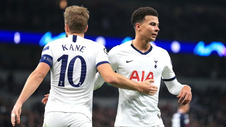 Tottenham's Harry Kane and Dele Alli