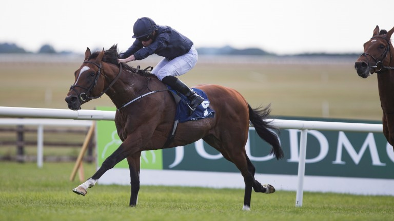 Flag Of Honour: son of Galileo lands the Group 1 Comer Group International Irish St Leger