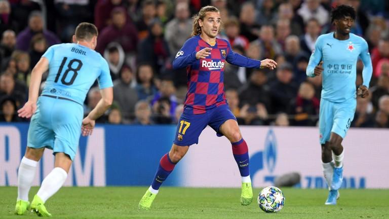 Antoine Griezmann's FC Barcelona take on Celta Vigo in La Liga