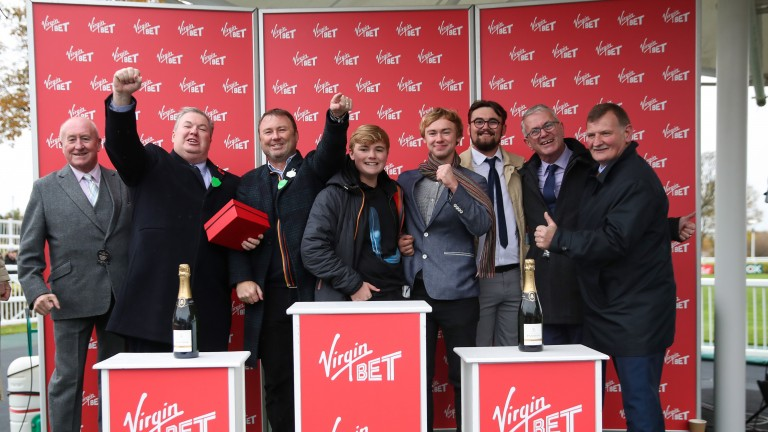 Racehorse owners: set to return to the racecourse on Wednesday