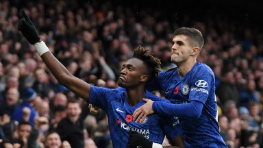 Tammy Abraham and Christian Pulisic scored in the reverse fixture against Palace