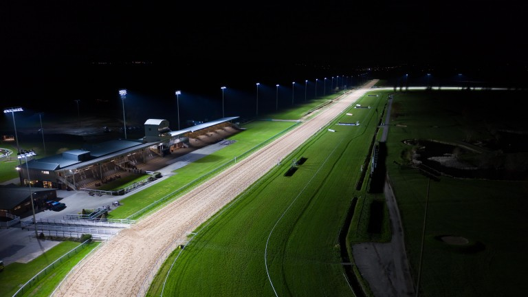 Southwell: racing has taken place on a Fibresand surface since 1989