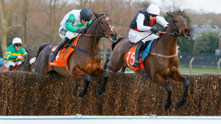 Classic Ben (right): landed a valuable prize at Sandown last season