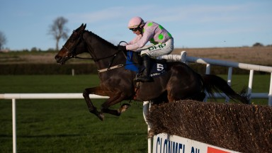 Douvan: made a return to winning ways in the Clonmel Oil Chase