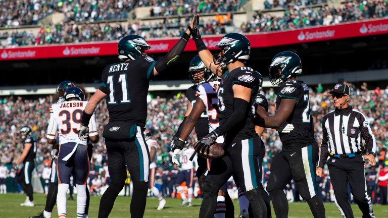 Philadelphia could be celebrating when they face Dallas on Sunday