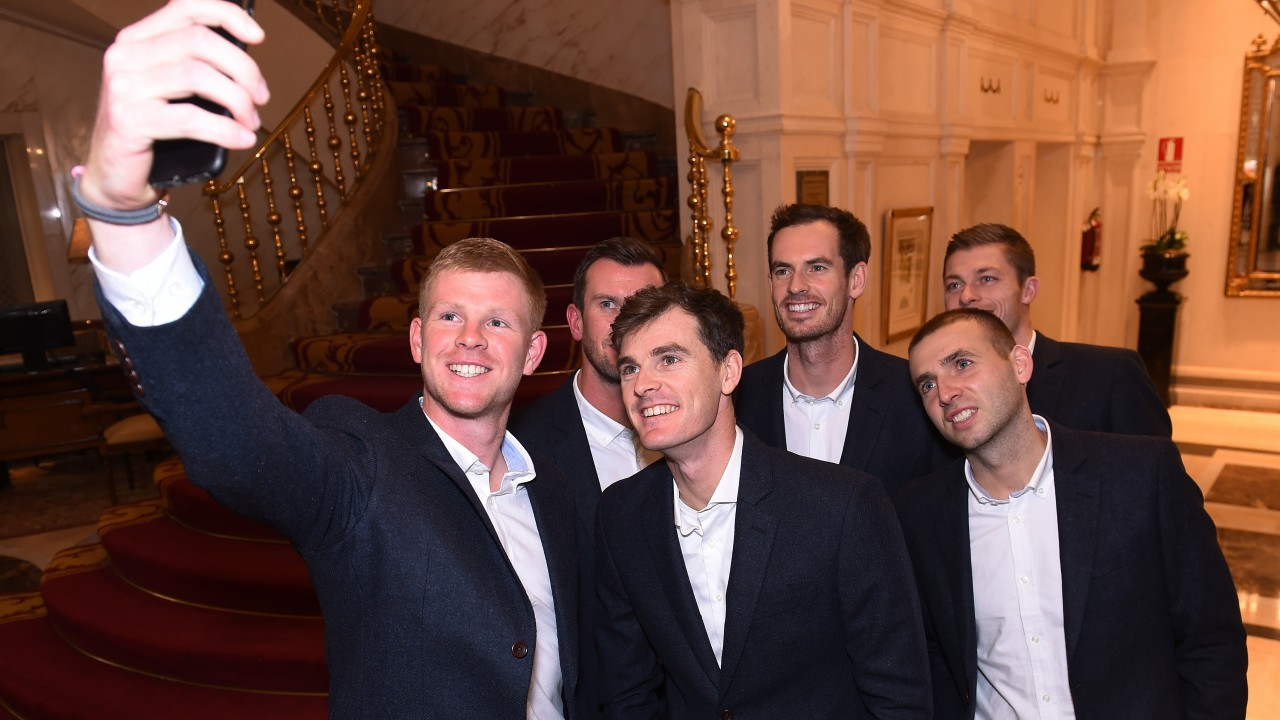 Image result for andy murray davis cup finals 2019