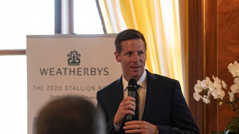 Russell Ferris: Weatherbys CEO has been 'helping' his wife run the family farm